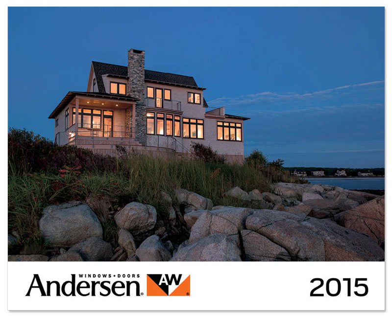 Andersen Windows Calendar cover